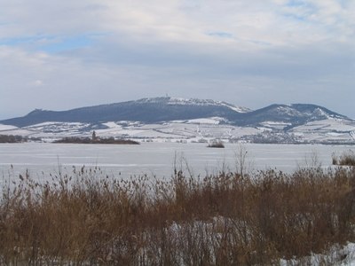 The Pavlov Hills in winter