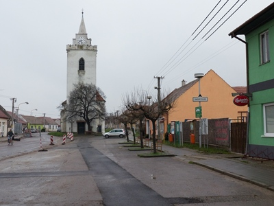 The village of Dolní Věstonice